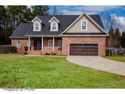Hope Mills NC Single Family Home For Sale: $259,900