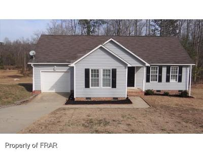 Raeford Single Family Home For Sale: 329 Buckeye Drive #25
