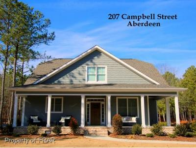 Aberdeen Single Family Home For Sale: 207 Campbell Street