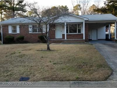Fayetteville NC Single Family Home For Sale: $69,000