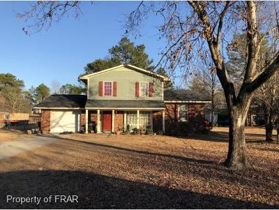 Hope Mills Single Family Home For Sale: 5741 Archer Rd