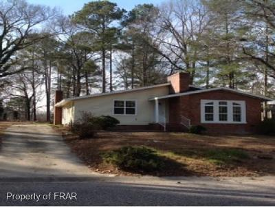 Fayetteville NC Single Family Home For Sale: $85,000