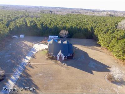 Robeson County Single Family Home For Sale: 1870 Leggett Rd