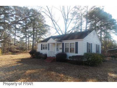 Hope Mills NC Single Family Home For Sale: $65,000