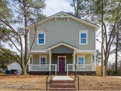Fayetteville Single Family Home For Sale: 125 Ruth St