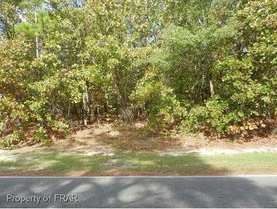 Harnett County Residential Lots & Land For Sale: 225 Carolina Lakes Rd