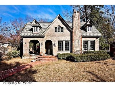 Fayetteville Single Family Home For Sale: 1410 Raeford Rd