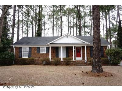 Fayetteville Single Family Home For Sale: 5416 Chesapeake Rd #410