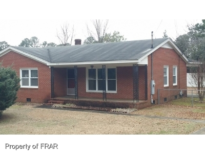 Fayetteville Single Family Home For Sale: 330 McPherson Church Rd