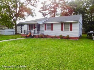 Robeson County Single Family Home For Sale: 1403 Willis Ave