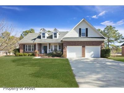 Fayetteville Single Family Home For Sale: 4609 Bent Grass Dr
