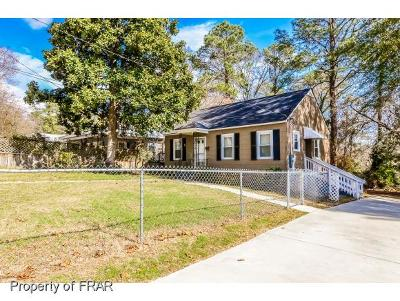 Fayetteville Single Family Home For Sale: 826 Anarine Rd