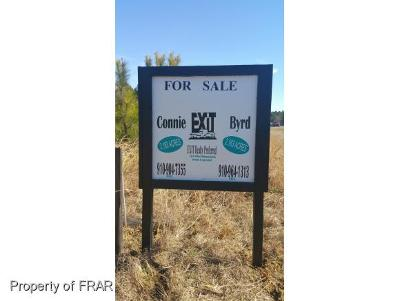 Raeford Residential Lots & Land For Sale: Fayetteville Rd