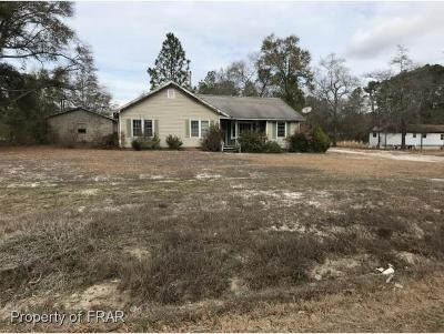 Fayetteville Single Family Home For Sale: 4433 S Nc Hwy 210 #1