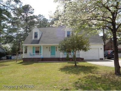 Fayetteville NC Single Family Home For Sale: $148,499