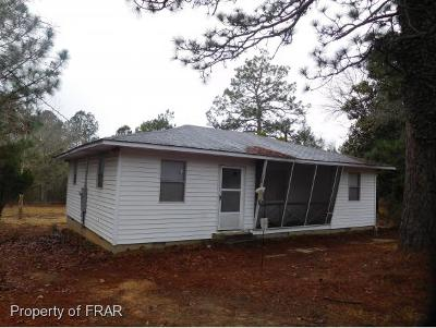 Aberdeen NC Single Family Home For Sale: $126,500