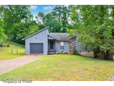 Fayetteville Single Family Home For Sale: 505 Toxaway Ct