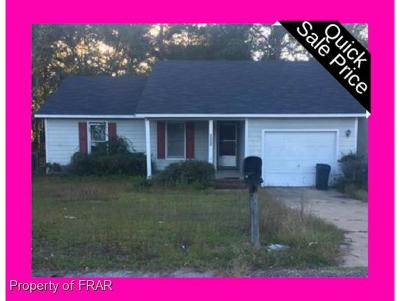 Fayetteville NC Single Family Home For Sale: $69,999