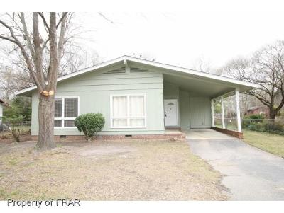 Fayetteville Single Family Home For Sale: 1071 Revere St
