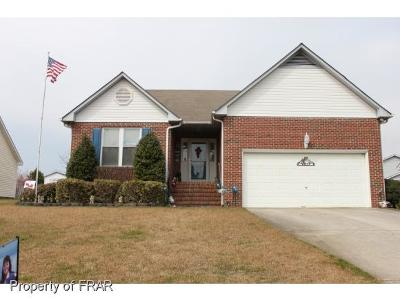 Hope Mills NC Single Family Home For Sale: $129,500