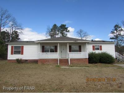 Raeford NC Single Family Home For Sale: $21,550