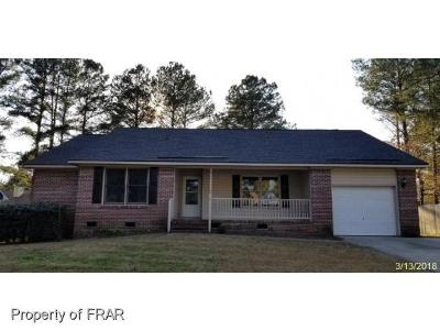 Fayetteville NC Single Family Home For Sale: $102,450