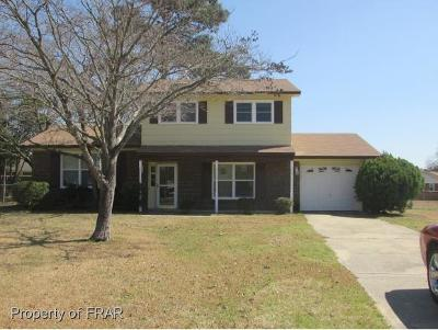 Fayetteville NC Single Family Home For Sale: $116,850