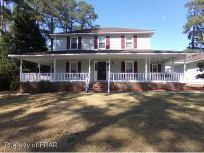 Fayetteville NC Single Family Home For Sale: $192,000
