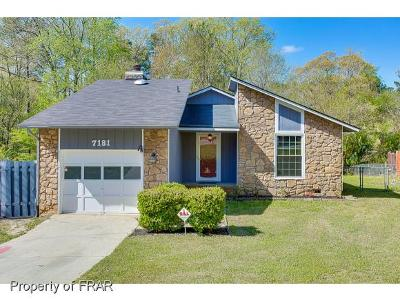 Fayetteville NC Single Family Home For Sale: $98,600