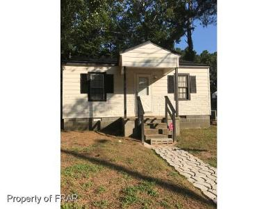 Fayetteville NC Single Family Home For Sale: $54,000