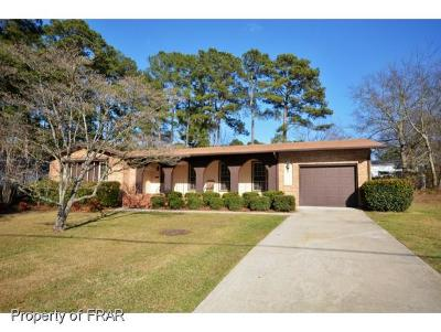Fayetteville NC Single Family Home For Sale: $161,500