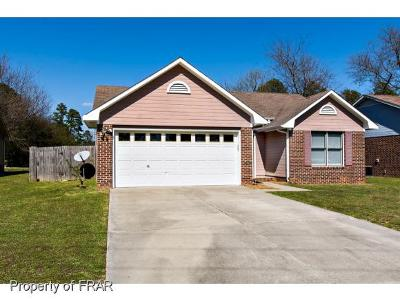 Fayetteville NC Single Family Home For Sale: $102,500