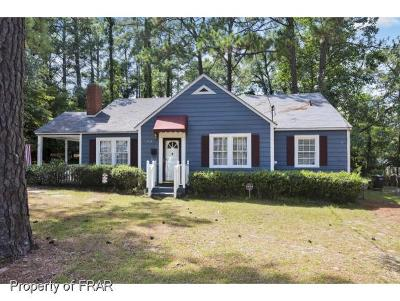 Fayetteville NC Single Family Home For Sale: $149,500
