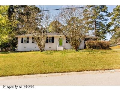 Fayetteville NC Single Family Home For Sale: $124,000