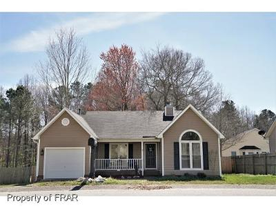 Fayetteville NC Single Family Home For Sale: $92,100