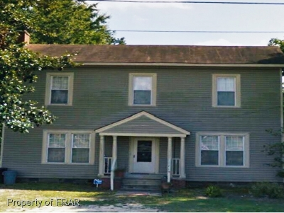 Red Springs Single Family Home For Sale: 209 W. 5th Avenue