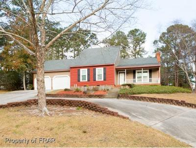 Fayetteville NC Single Family Home For Sale: $194,900
