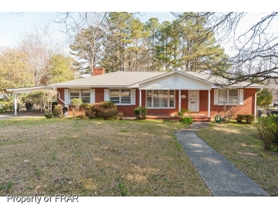 Fayetteville Single Family Home For Sale: 1914 Bellemeade Rd