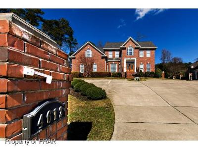 Fayetteville Single Family Home For Sale: 4612 Weaverhall Road