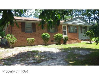 Fayetteville NC Single Family Home For Sale: $55,000