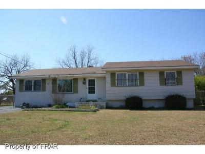 Fayetteville NC Single Family Home For Sale: $46,000