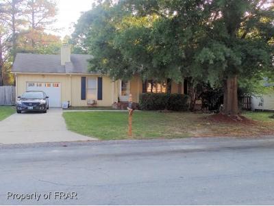 Fayetteville Single Family Home For Sale: 1016 Christina Street #55