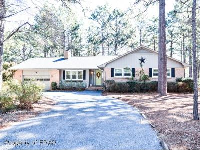 Whispering Pines Single Family Home For Sale: 7 Par Dr