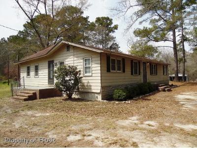 Red Springs Single Family Home For Sale: 6904 Red Springs Rd