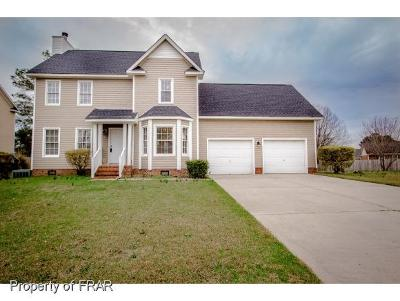 Fayetteville NC Single Family Home For Sale: $177,000