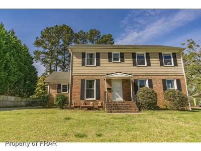 Fayetteville Single Family Home For Sale: 2707 Bennington Rd