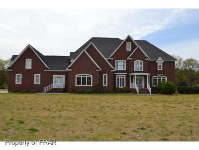 Robeson County Single Family Home For Sale: 2431 Locklear Rd.