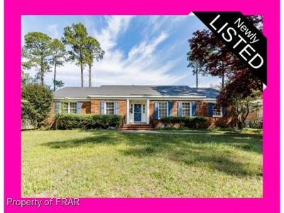 Fayetteville Single Family Home For Sale: 2814 Millbrook Road
