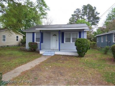 Fayetteville NC Single Family Home For Sale: $60,000