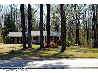 Moore County Single Family Home For Sale: 1269 McGill Road